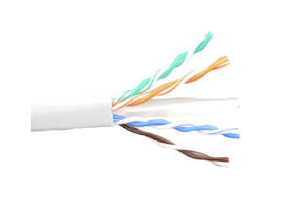 Picture of ICC ICCABR6EWH - CAT6e CMR PVC CABLE WHITE