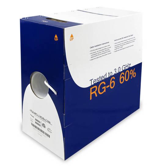 Picture of Wavenet WAV-COAX-RG6-BK - RG6 COAX 1000FT PULL BOX BOX RG6URBK