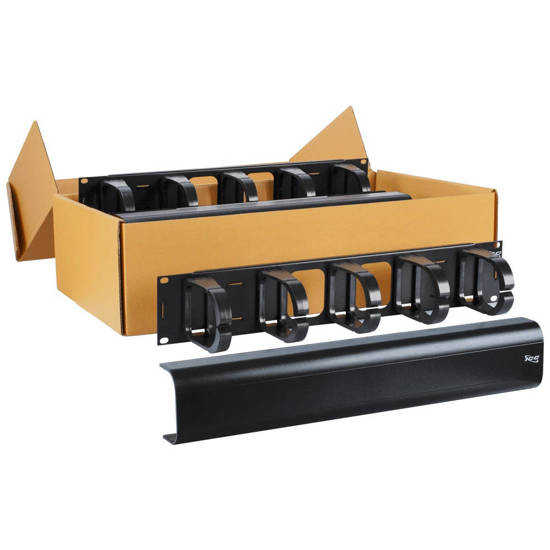 Picture of ICC ICCMSCMAV2 - PANEL, CABLE MGMT INTERBAY, 2 RMS, 6 PK