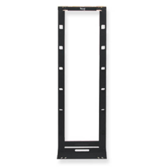 Picture of ICC ICCMSCMRH7 - CABLE MNGMENT RACK, HYBRID, BLACK, 7ft