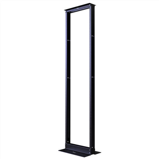 Picture of ICC ICCMSR1948 - DISTRIBUTION RACK BLACK, 4ft, 24 RMS