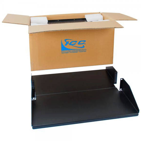 """Picture of ICC ICCMSRDSC3 - RACK SHELF, 20"""" DEEP DBL SOLID 2RMS, 2PK"""