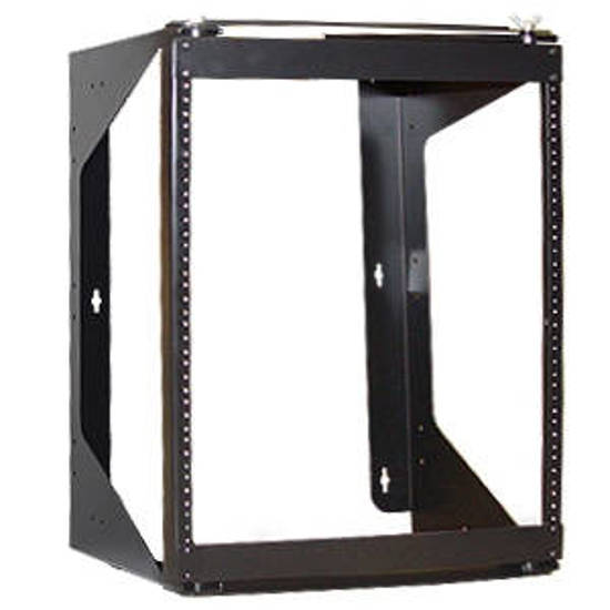 Picture of ICC ICCMSSFR12 - RACK WALL MOUNT SWING FRAME 12 RMS