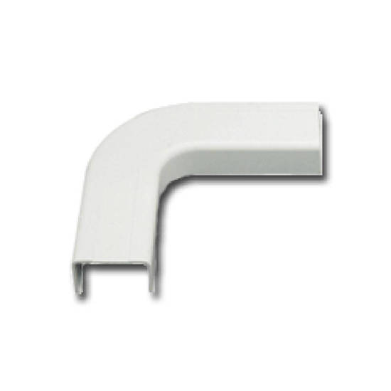 """Picture of ICC ICRW13EOWH - FLAT ELBOW, 1 3/4"""", WHITE, 10PK"""