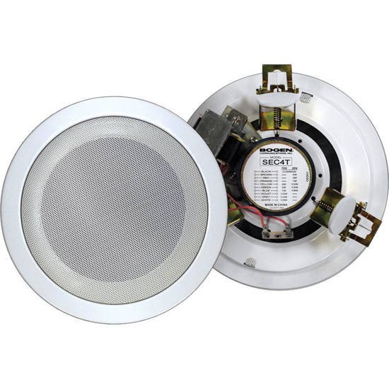 Picture of Bogen SEC4T - 4 inch round speaker 4 watts