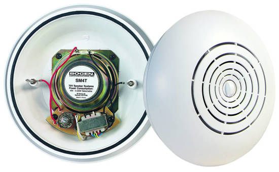 Picture of Bogen SM1EZ - Bogen Easy Install Speaker w Single Tap