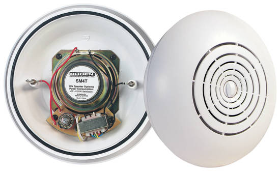 Picture of Bogen SM4T - Easy Install Ceiling Speaker