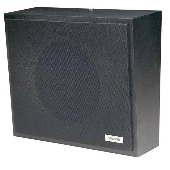 Picture of VALCOM V-1016-BK - 1Watt 1Way Wall Speaker - Black