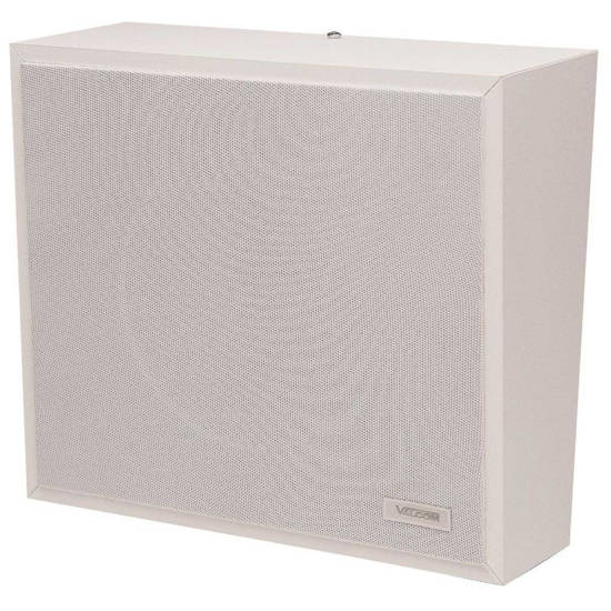 Picture of VALCOM V-1016-W - 1Watt 1Way Wall Speaker - White