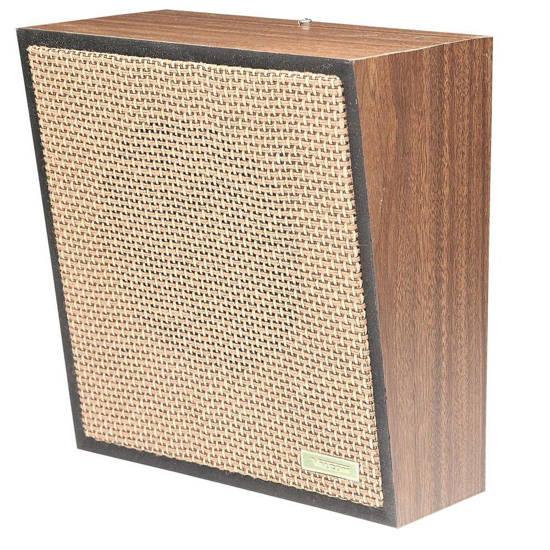 Picture of VALCOM V-1022C - 1Watt 1Way Wall Speaker - Brown
