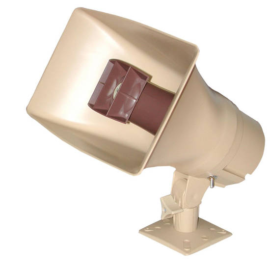 Picture of VALCOM V-1038 - 30Watt 1Way Paging Horn - Beige