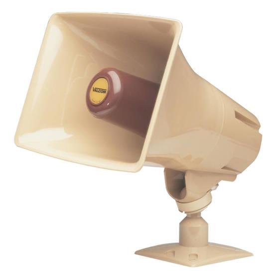 Picture of VALCOM V-1048C - Talkback Paging Horn - Beige