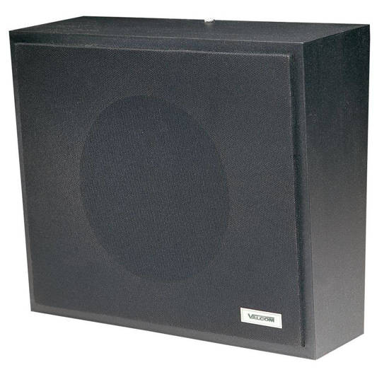Picture of VALCOM V-1061-BK - Talkback Wall Speaker - Black