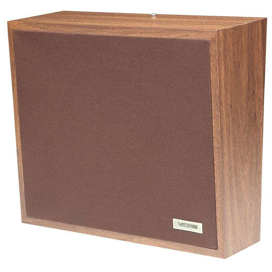 Picture of VALCOM V-1063A - Talkback Wall Speaker - Walnut