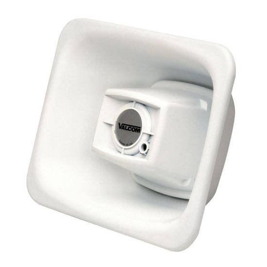 Picture of VALCOM V-1080-WH - 3Watt 1Way FlexHorn - White