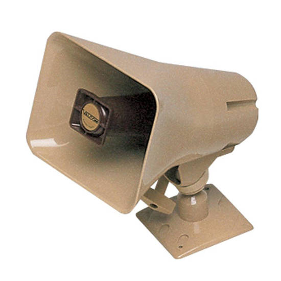 Picture of VALCOM V-9925A - Loud Warble Horn